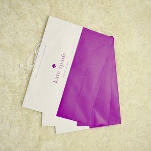 3 medium size Kate spade shopping bags